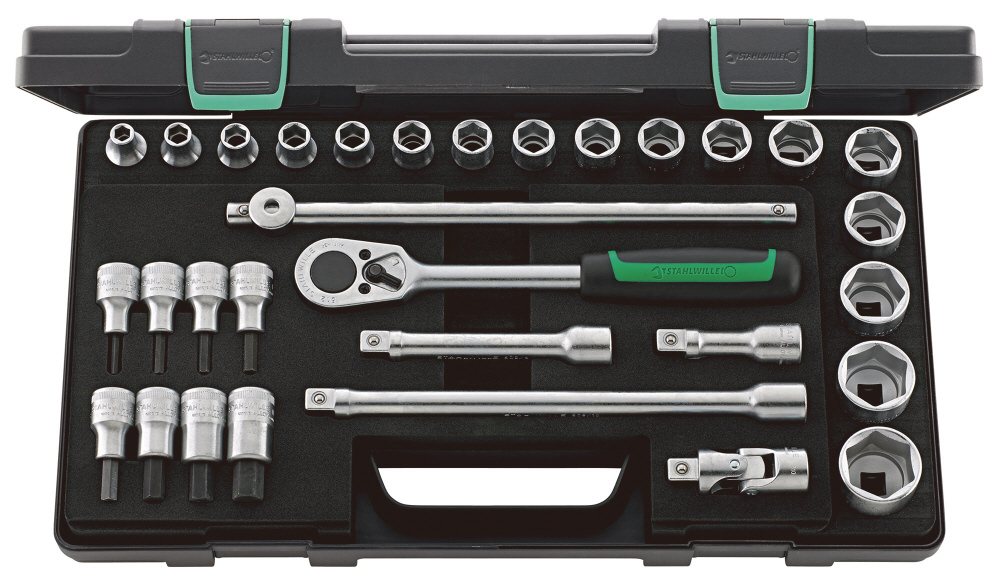 STAHLWILLE (1/2SQ) Socket Wrench Set (96031239)