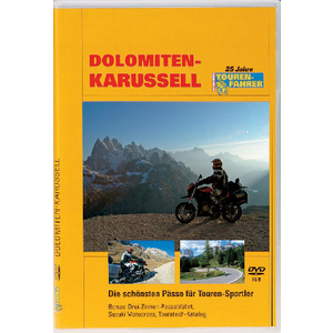 TOURATECH Video DVD Dolomiten-Karussell - Tourenfahrer