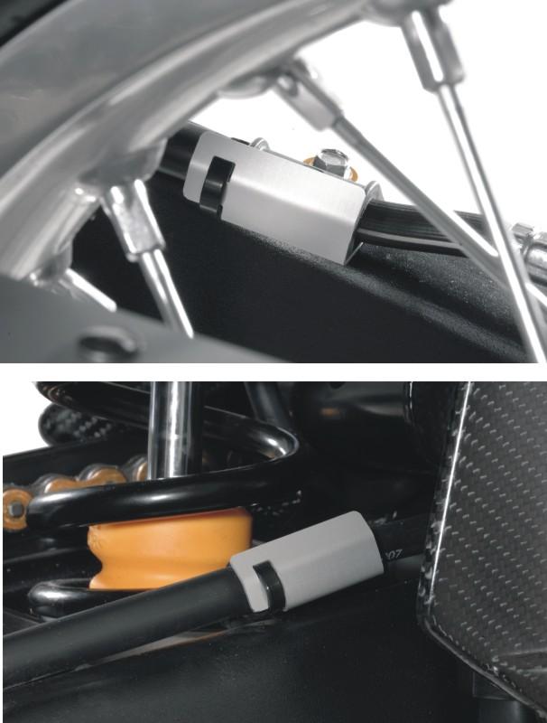 【TOURATECH】煞車油管夾護蓋 - 「Webike-摩托百貨」