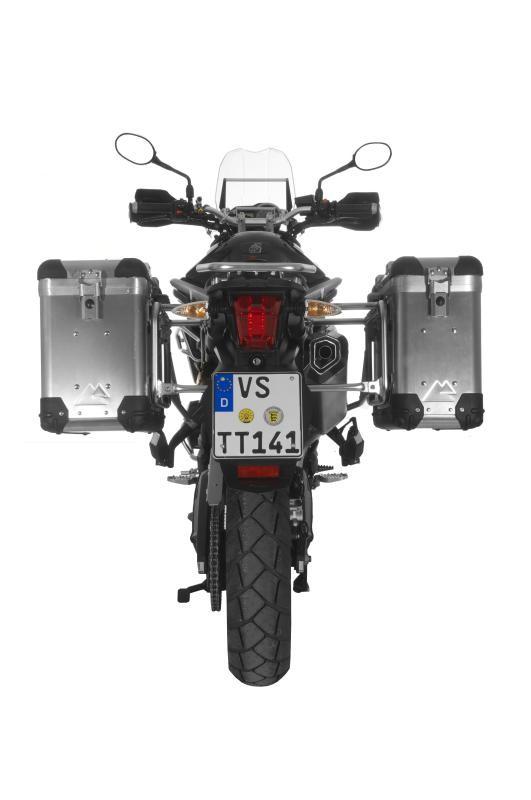【TOURATECH】ZEGA-PRO2鋁合金馬鞍箱 Pannier System 【31L+38L】 - 「Webike-摩托百貨」