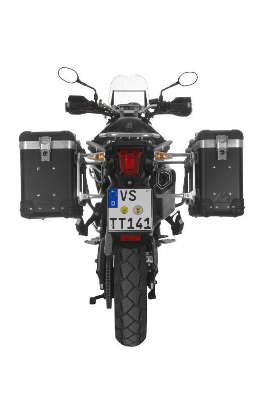 【TOURATECH】ZEGA-PRO2 「And-black」鋁合金馬鞍箱 Pannier System - 「Webike-摩托百貨」