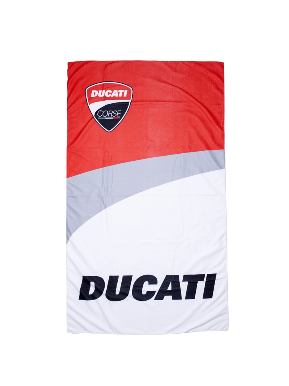 motogp apparel ducati corse ducati corse serviette de plage beachtowel 1756001mulu. Black Bedroom Furniture Sets. Home Design Ideas
