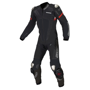 KOMINE S-51 Titanium Leather Suit