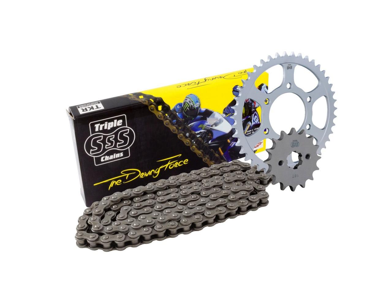 BIKE IT : Yamaha XT250 08-12 Chain & Sprocket Kit: 15T