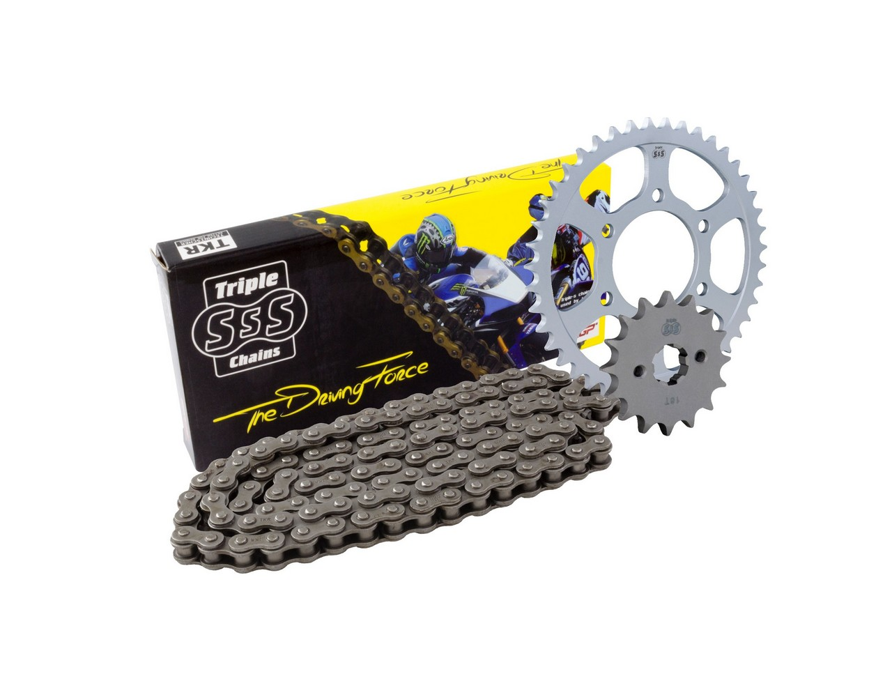 BIKE IT Yamaha MX PW80 91-09 Chain & Sprocket Kit