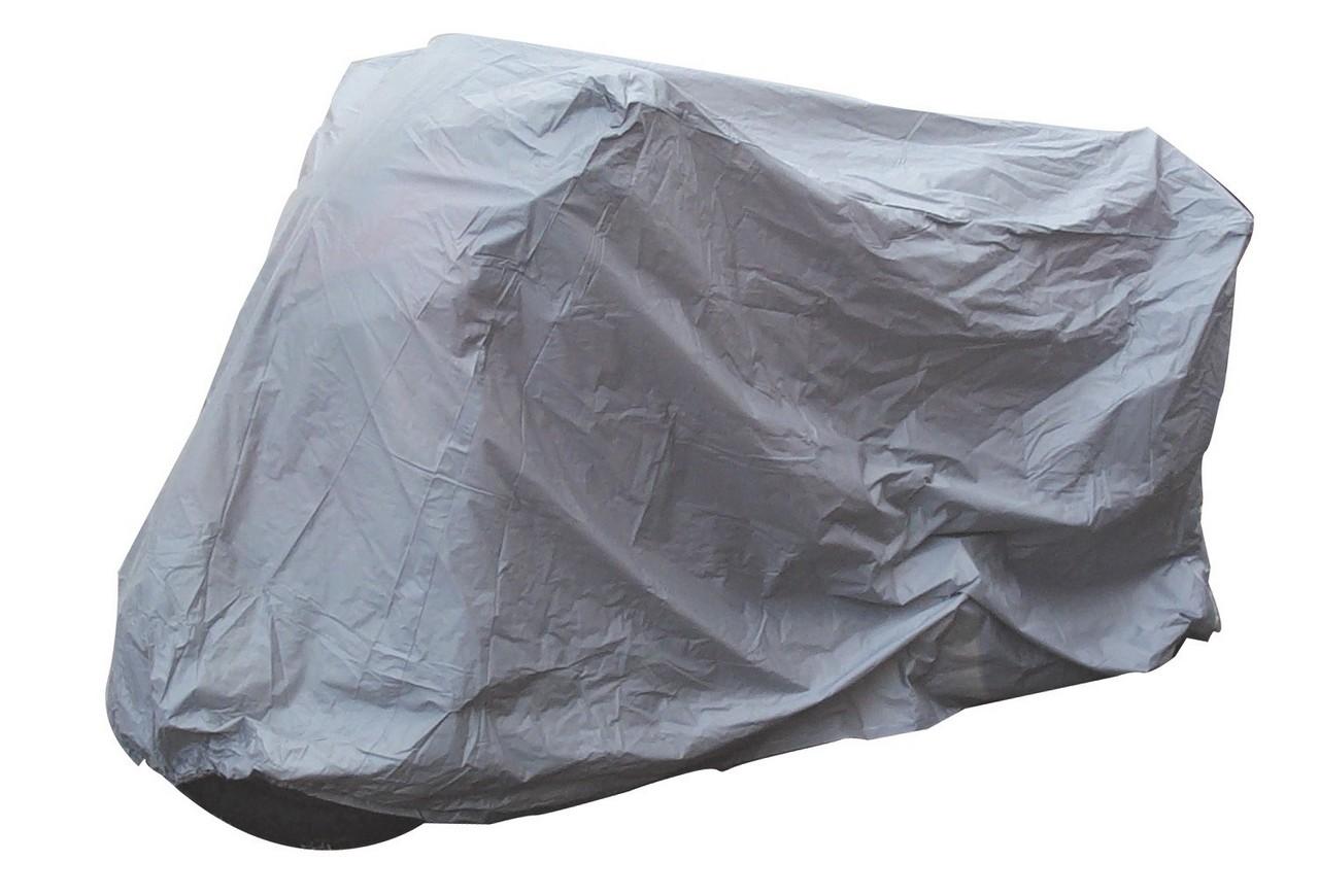 Bikeit Motorcycle Motorbike Deluxe Heavy Duty Ventilated Rain Cover Upto 600CC M