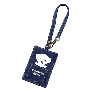 YAMAHA YAMAHA Motor Bear Denim Pass Case