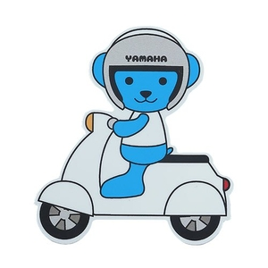 YAMAHA Motorcycle YAMAHA Motor Bear Sticker