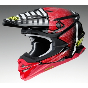 SHOEI VFX - WR BLAZON [부이프 X - WR Brazone TC - 1 RED / BLACK] 헬멧