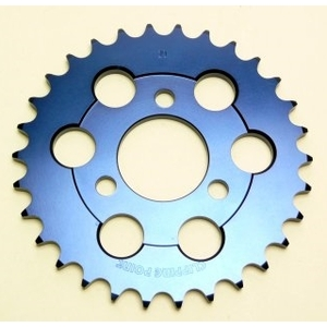 CLIPPING POINT Duralumin Driven Sprocket