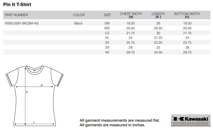 【US KAWASAKI】Pin It T恤 - 「Webike-摩托百貨」