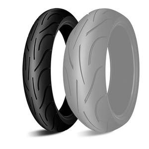 MICHELIN PILOT POWER 2CT [120 / 70ZR17 M / C (58W) TL] إطار العجلة