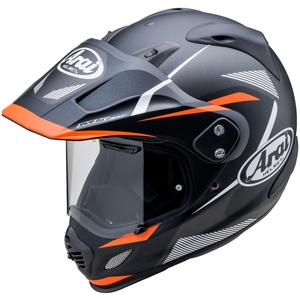 Arai TOUR - CROSS 3 BREAK [Tour cross 3 break Black / Arancione] Casc