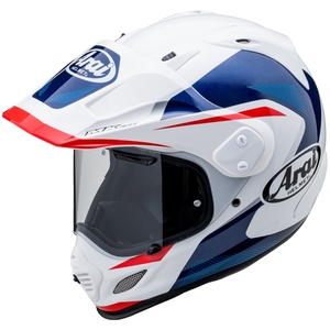 Arai Casco TOUR-CROSS 3 (XD4) BREAK [Blanco/Azul]