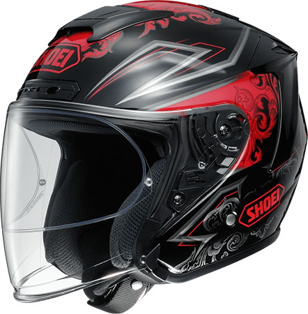 J-FORCE IV REFINADO [TC-1 RED/BLACK] Helmet