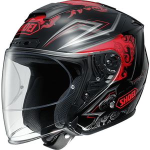 SHOEI Casco J-FORCE IV REFINADO [TC-1 ROJO/NEGRO]
