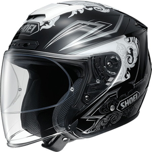 SHOEI J - FORCE IV REFINADO [J - Force Four Refereeard TC - 5 БЕЛАЯ /