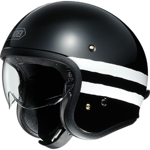 SHOEI J. O SEQUEL [TC - 5 NOIR / Blanc] Casque