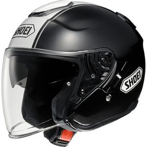 SHOEI J-risteily CORSO [TC-5 BLACK / WHITE] Kypärä