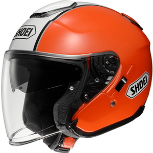 SHOEI J-cruise CORSO [TC-8 oranje / wit] Helm