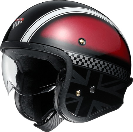 J/O HAWKER [TC-1 Red/Silver] Helmet