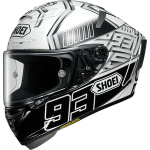 SHOEI X-14 MARQUEZ4 [TC-6 White/Black] Helmet
