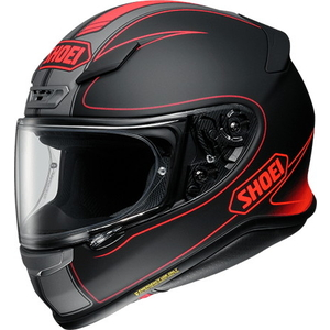 SHOEI Z-7 FLAGGER [TC-1 Rouge / Noir mat] Casque