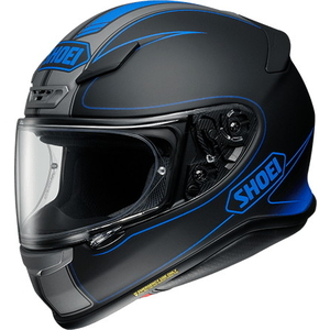 SHOEI Z-7 (RF-1200) FLAGGER [TC-2 Blue/Matte Black] Helmet