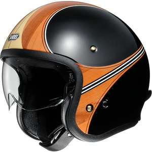 SHOEI J / O WAIMEA [Jay / Oh Waimea TC - 10 MARRONE / NERO] Casco