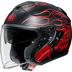 SHOEI J-Cruise REBORN [TC-1 rood / zwart] Helm
