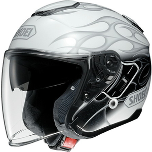 SHOEI J-Cruise REBORN [TC-6 Blanc / Gris] Casque