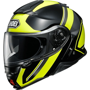 SHOEI NEOTECII EXCURSION [TC-3 JAUNE / Noir] Casque