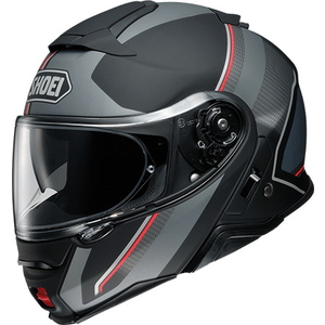 SHOEI NEOTECII EXCURSION [TC-5 SILVER / BLACK] Hjälm