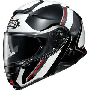 SHOEI NEOTECII EXCURSIE [TC-6 wit / zwart] Helm