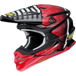 SHOEI VFX - WR BLAZON [Bouyff X - WR Brazone TC - 1 RED / BLACK] Шлем