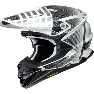 SHOEI VFX-WR (VFX-EVO) BLAZON [TC-6 WHITE/BLACK] Helmet