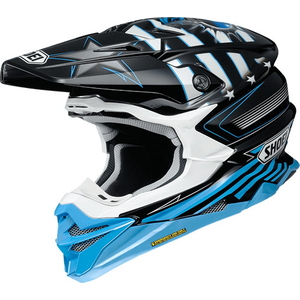 SHOEI VFX-WR (VFX-EVO) GRANT3 [TC-2 BLUE/BLACK] Helmet