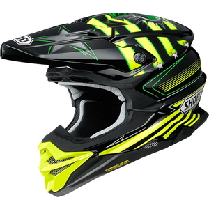 SHOEI VFX-WR (VFX-EVO) GRANT3 [TC-3 YELLOW/BLACK] Helmet