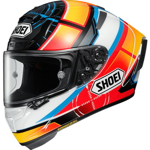 SHOEI X-14 DE ANGELIS [TC-1 RED/WHITE] Helmet