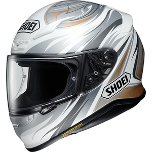 SHOEI Z-7 INCISION [TC-6 أبيض / فضي] خوذة