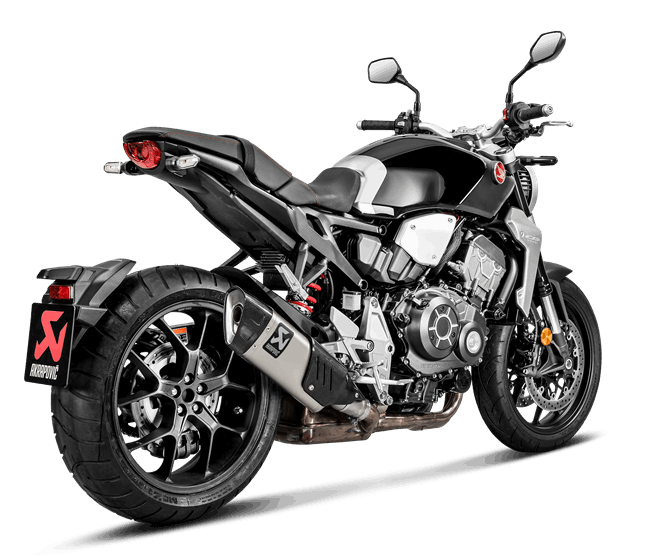 AKRAPOVIC E4 Specification Slip On Silencer