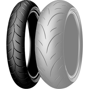 DUNLOP Qualificateur II [120 / 70Zr17 MC (58W) TL] Pneu