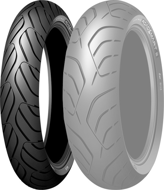 DUNLOP SPORTMAX ROADSMART III [120/70zr17 (58W) F TL H] Sportsmax Road Smart3 Tire