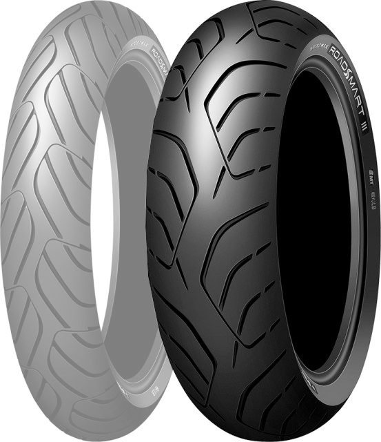 DUNLOP SPORTMAX ROADSMART III [160/60zr17 (69W) TL U] Sportsmax Road Smart3 Tire
