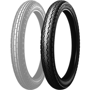DUNLOP D107 Rear [80/90-17 44P WT] Tire