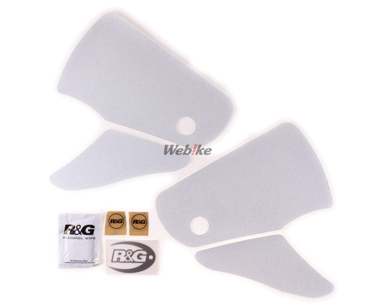 R/&G 2-Grip Tank Pads In Clear For Suzuki 2003 GSX-R1000 K3
