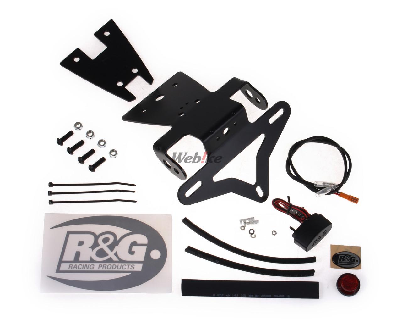 BLACK R/&G RACING TAIL TIDY LP0162BK
