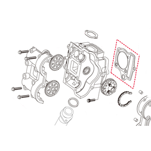 KITACO [Repair Parts] Head Gasket