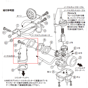 KITACO [Repair Parts] Manifold Body