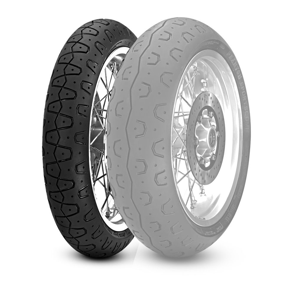 PIRELLI PHANTOM SPORTSCOMP [120/70 ZR17 M/C (58W) TL] TIRE